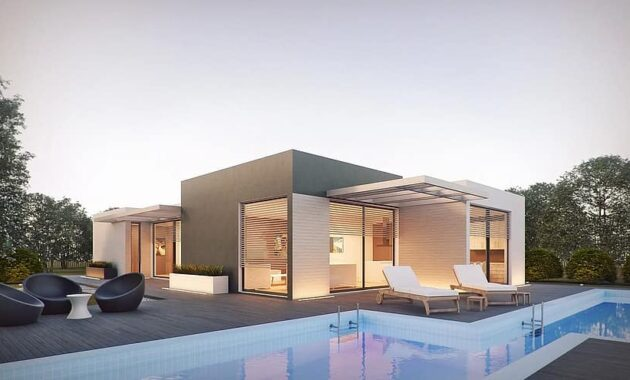 architecture render external design shop 3d 3dsmax crown render pool 1