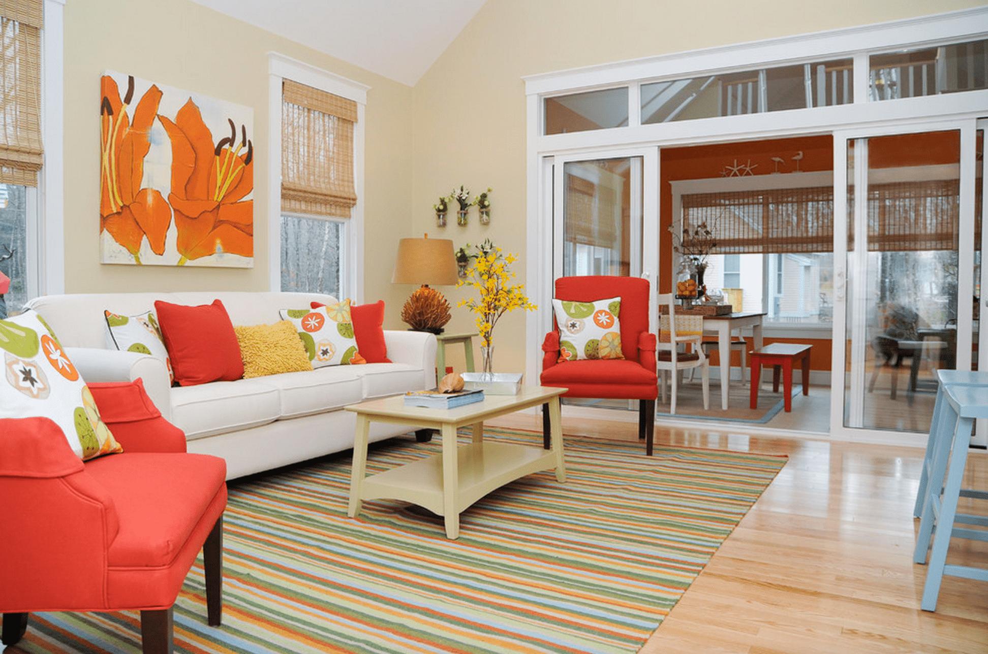 bright color furniture inspiration