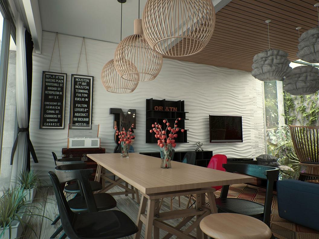 minimalist house ideas with beautiful light design