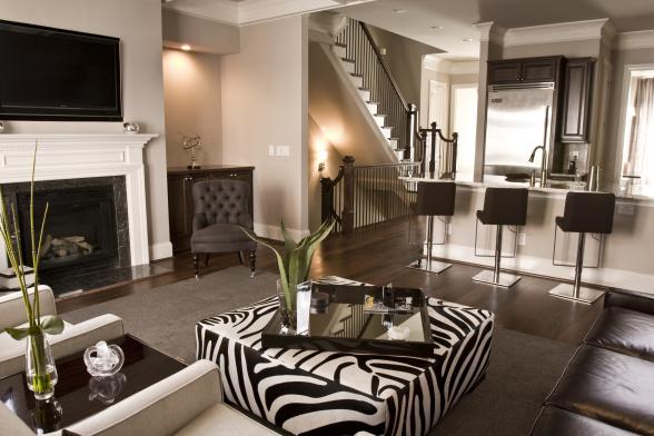 coffee matte living room design inspiration