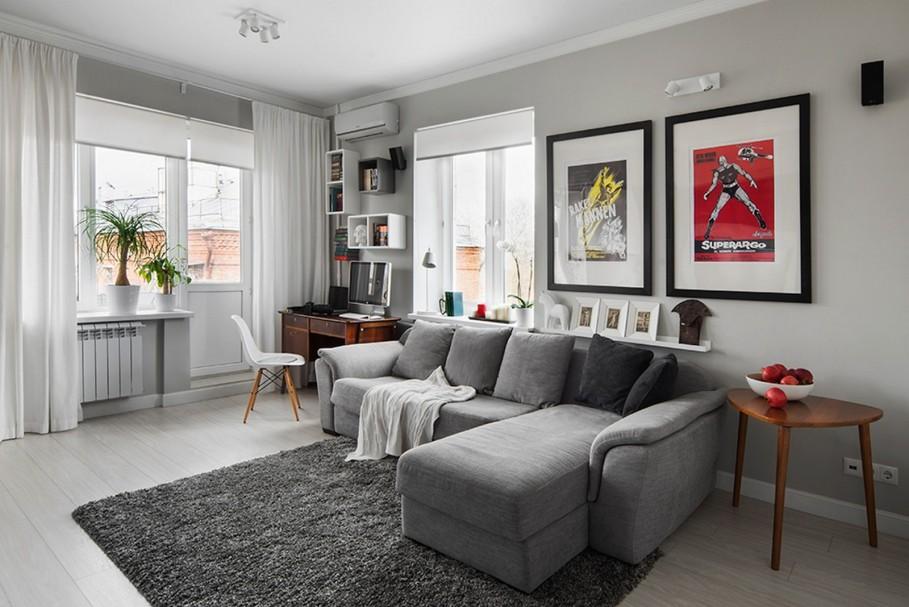gray wall color inspiration