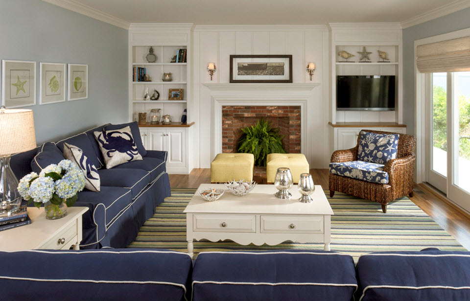 living room ideas with chalk and milk color
