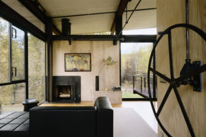 Minimalist Housing wooden concept