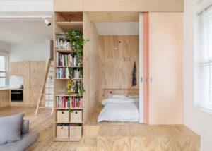 maximize storage minimalist house