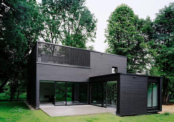 beautiful minimalist house design