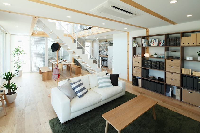 modern style house design private area