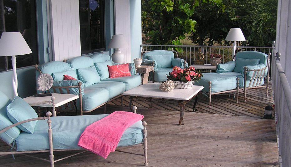 outdoor spray furniture design ideas