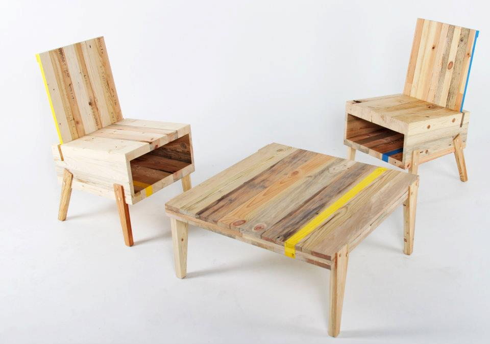 recycled furniture sets