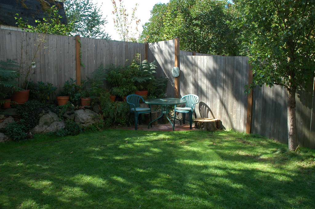 Minimalist backyard ideas