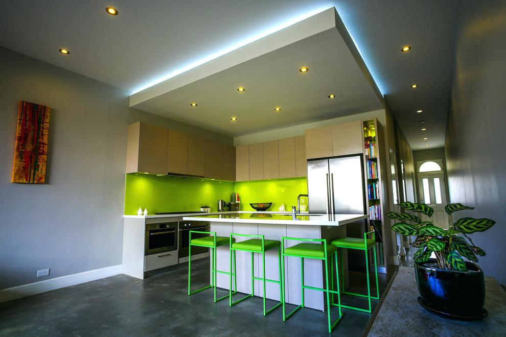 Minimalist House Ideas with unique room design
