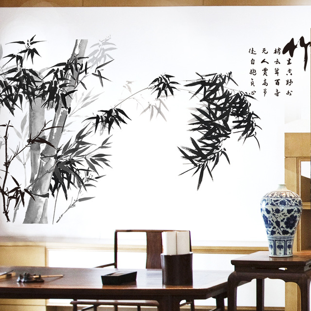 Eastern Bamboo Style Wall Art