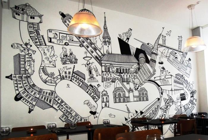 Modern Wall Art Decoration For Front Wall