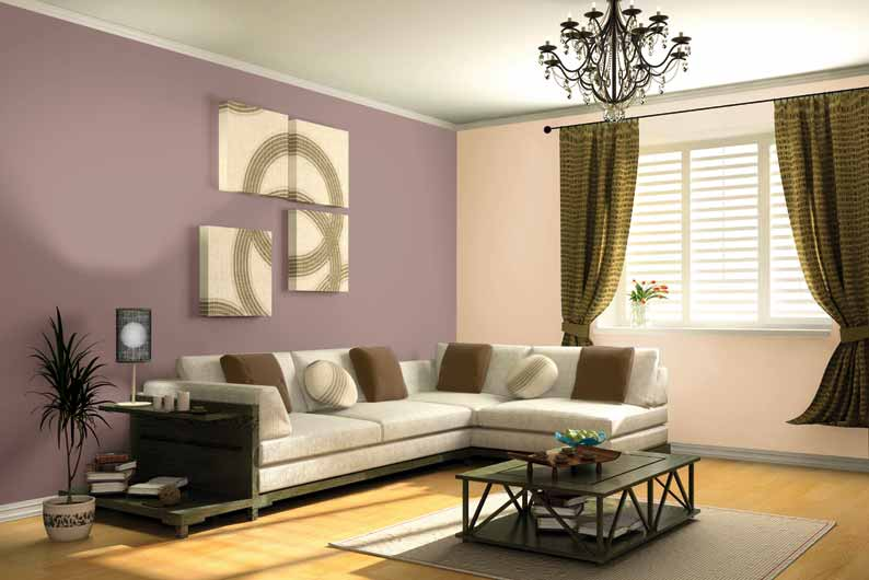 minimalist house design with pastel color