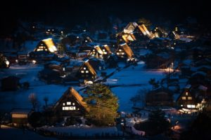 Japan Village Traditional