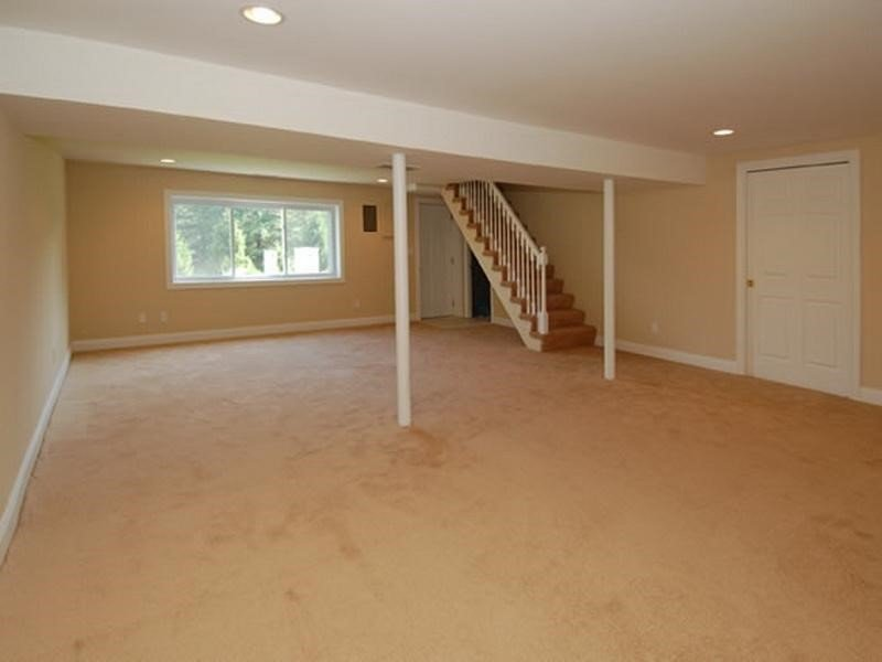 Building A Room In The Basement bedroom area with underground placement