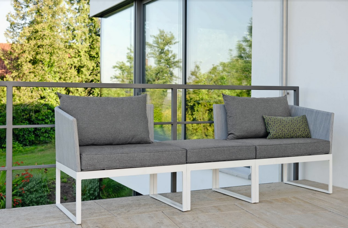 double set sofa exterior design for outdoor