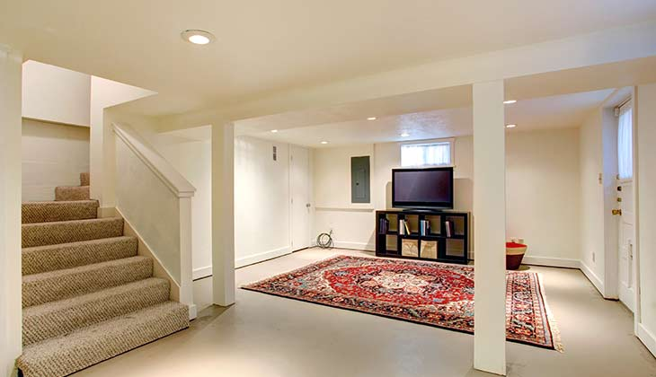 Building A Room In The Basement flooring coating add some bedroom ideas for free area