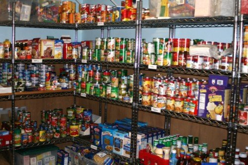 food supply in the basement