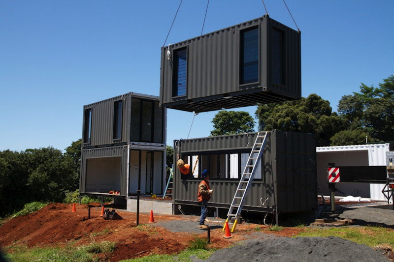 good quality materials container house