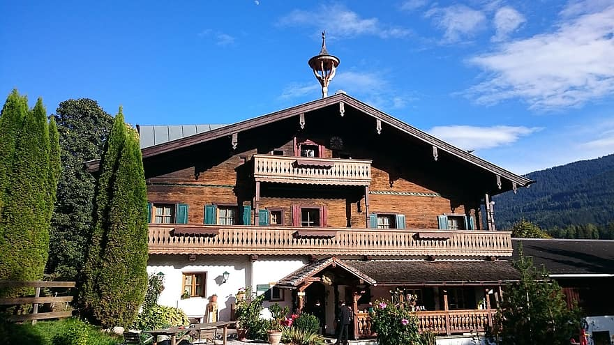 house bavarian guest house wood hotel