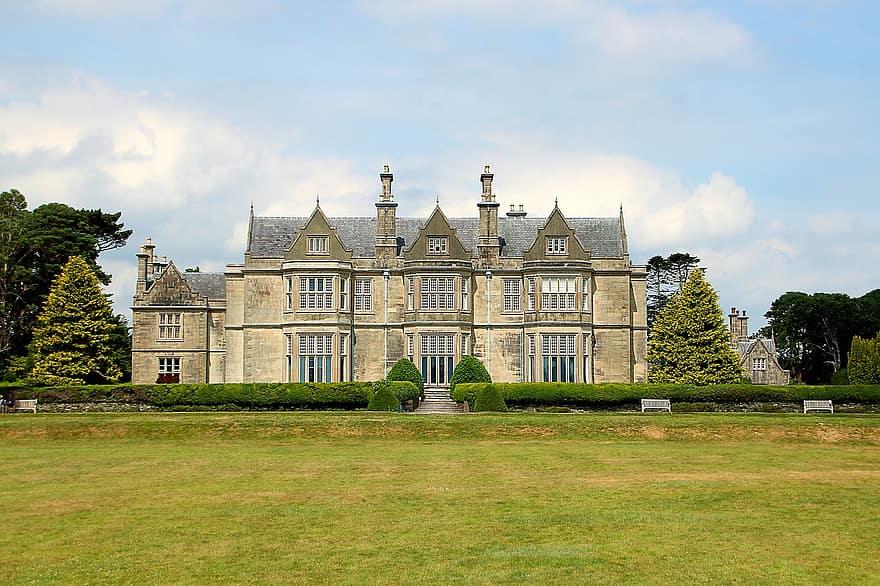 ireland manor house country estate architecture national park house killarney villa real estate