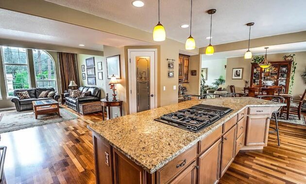 kitchen home real estate living room residential residence room cooktop cabinets