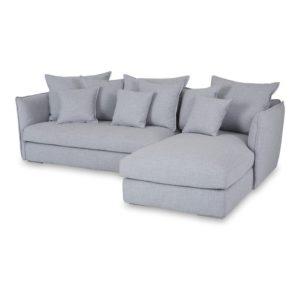 chaise lounge sofa modern in grey
