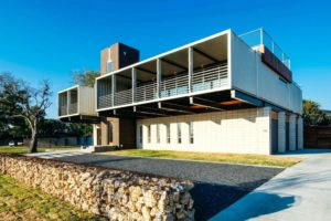 modern and minimalist container house