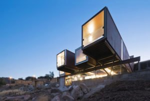 modern container house materials