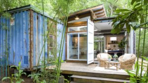 natural container house