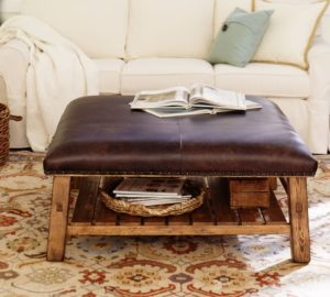 ottoman design upholstered table
