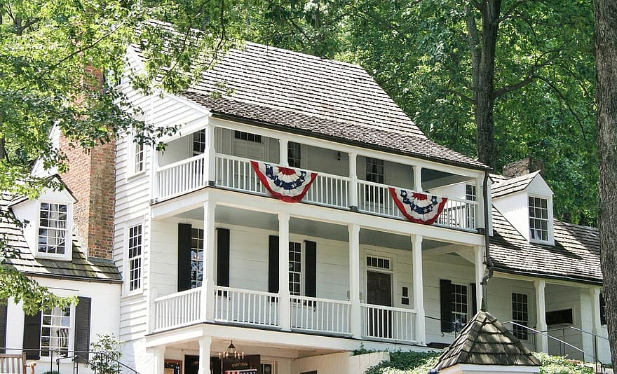 tavern historic 1784 mansion guest house bunting publick house charlottesville