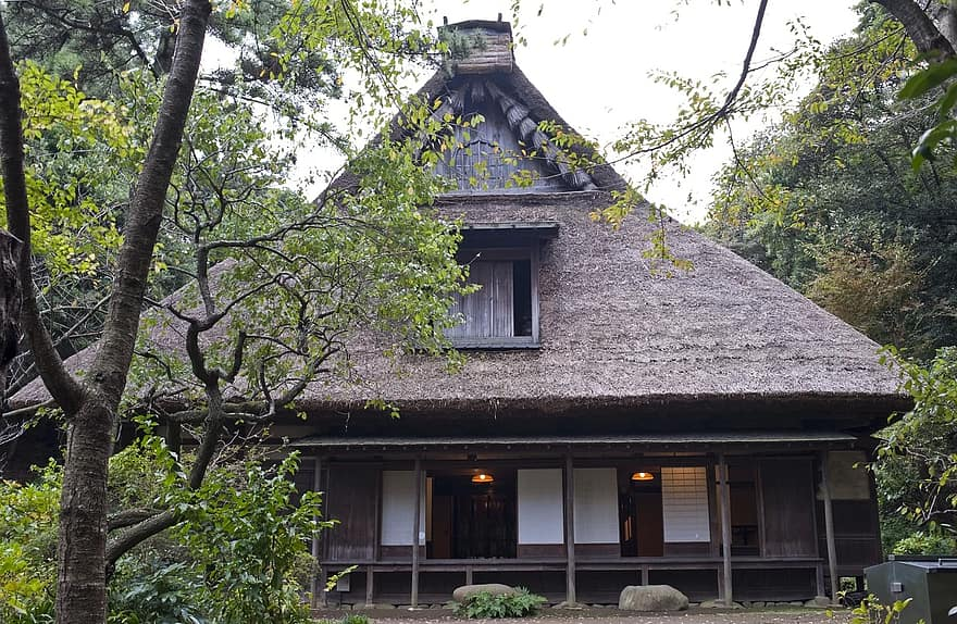 the yanohara japanese house traditional garden in yokohama japan japanese garden old house architecture building