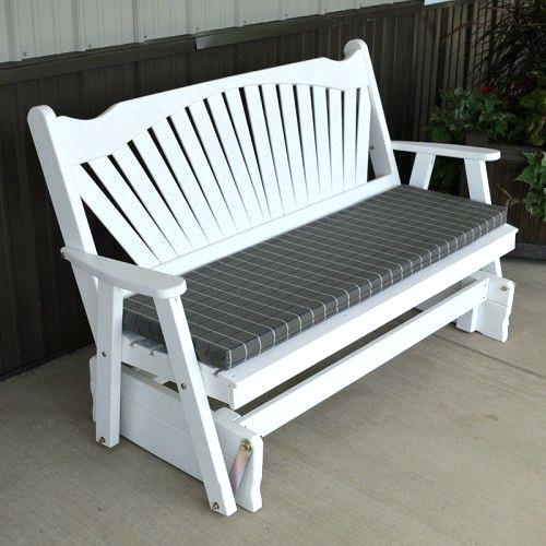 white glinder bench simple minimalist