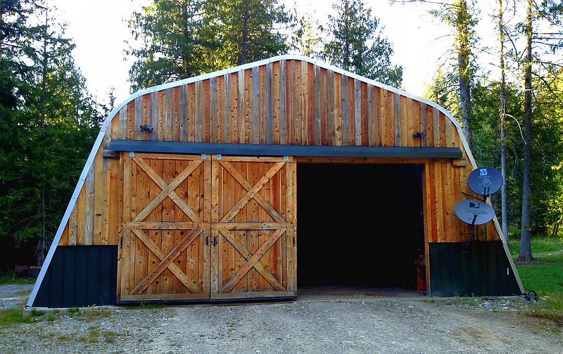 wooden garage ideas
