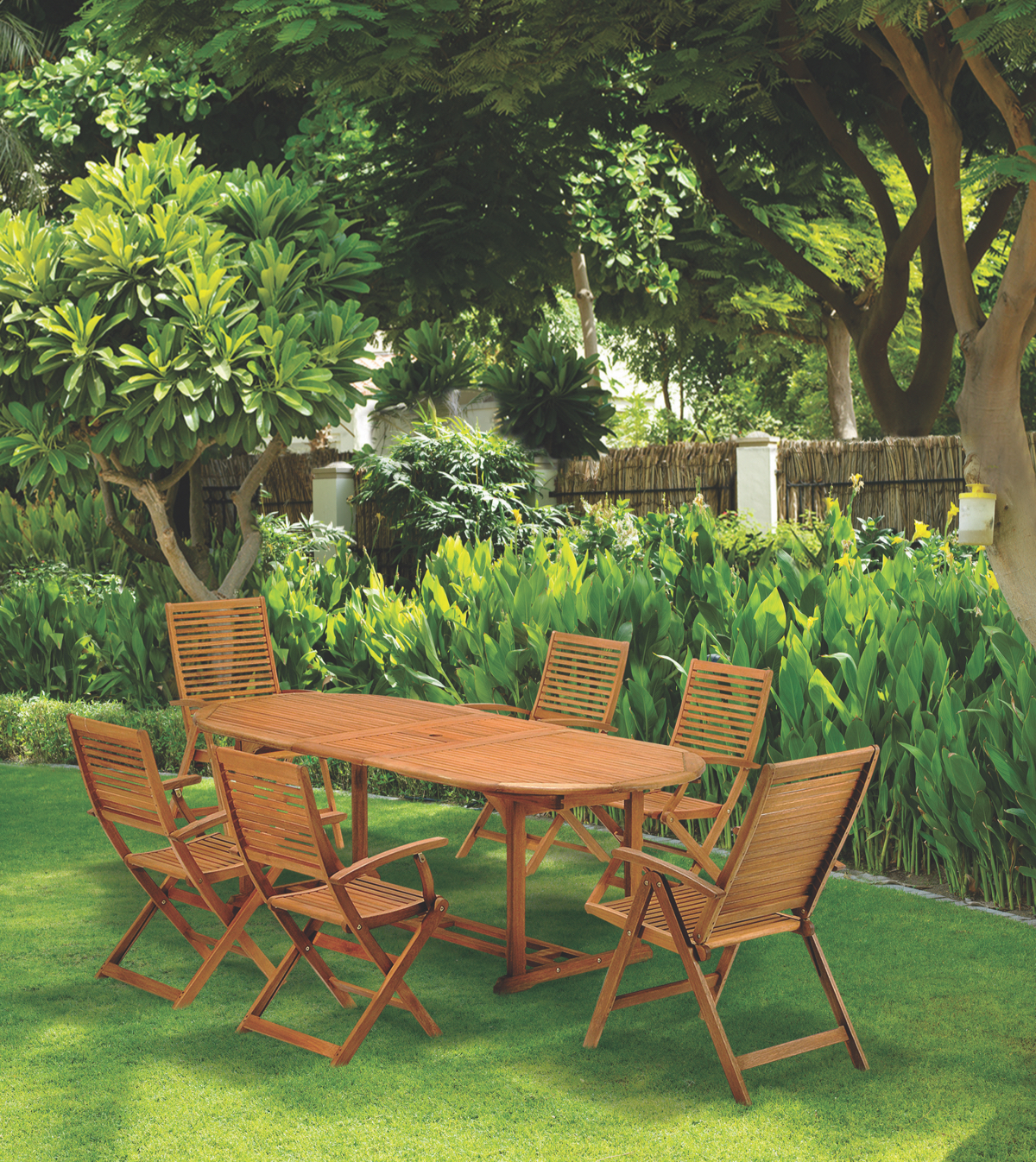 wooden outdoor garden sets
