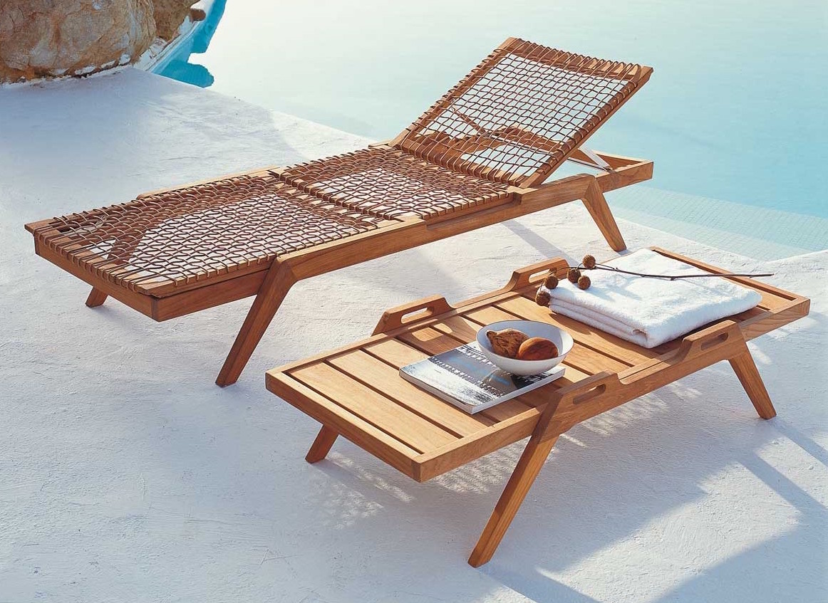 wooden style art for terrace