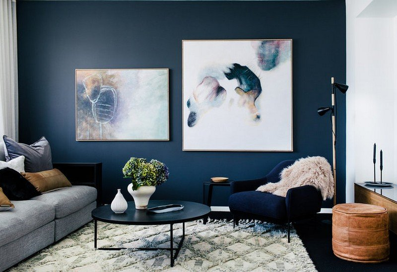abstract painting living room decor
