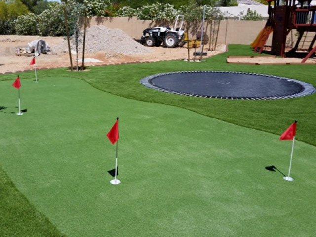 backyard putting green materials