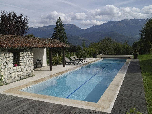 Natural Swimming Pool Designs beautiful lap pool