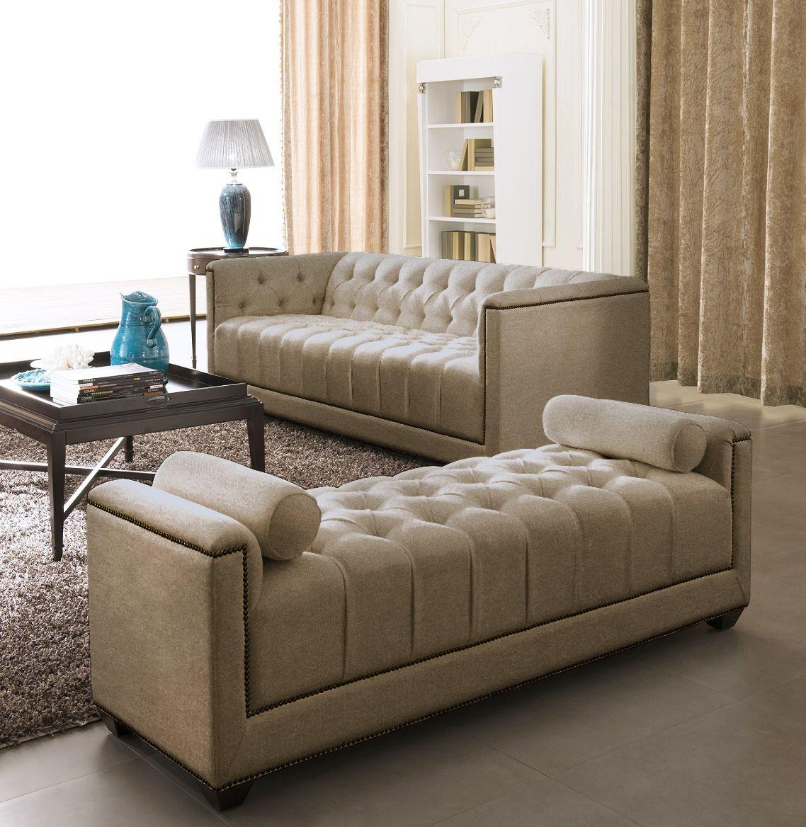 brown design sofa cama