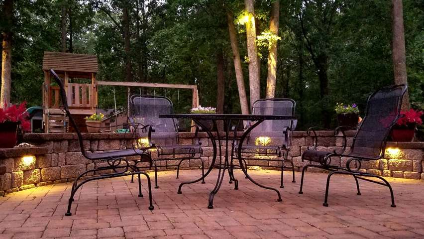 furniture set patio design
