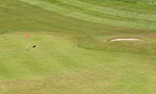 golf golf green flag bunker green sport grass course recreation