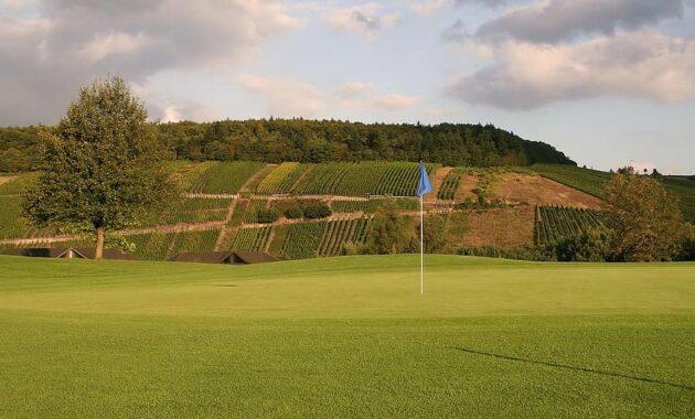 golf rush green flag hole golf club putting trier vineyards