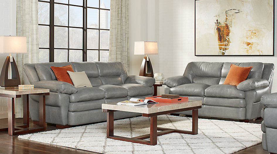 grey leather sofa set living room ideas
