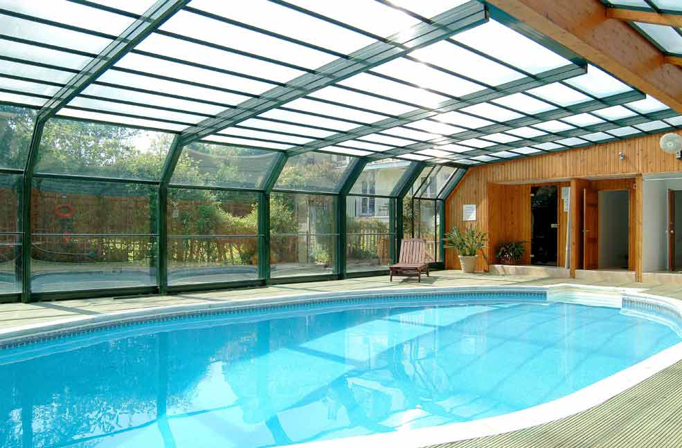 Natural Swimming Pool Designs - indoor pool house