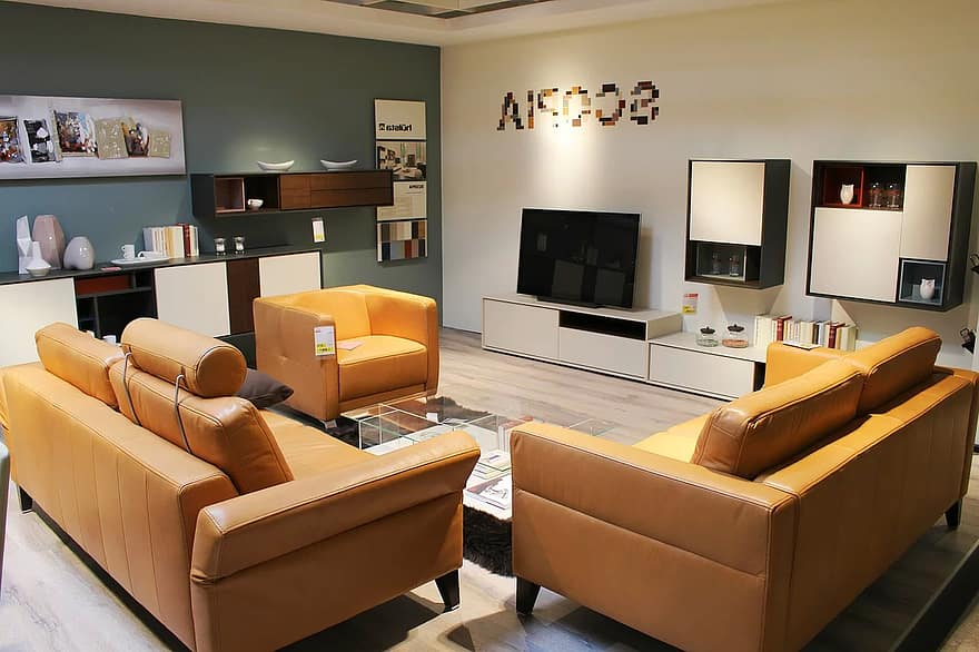 living room facilities live decoration