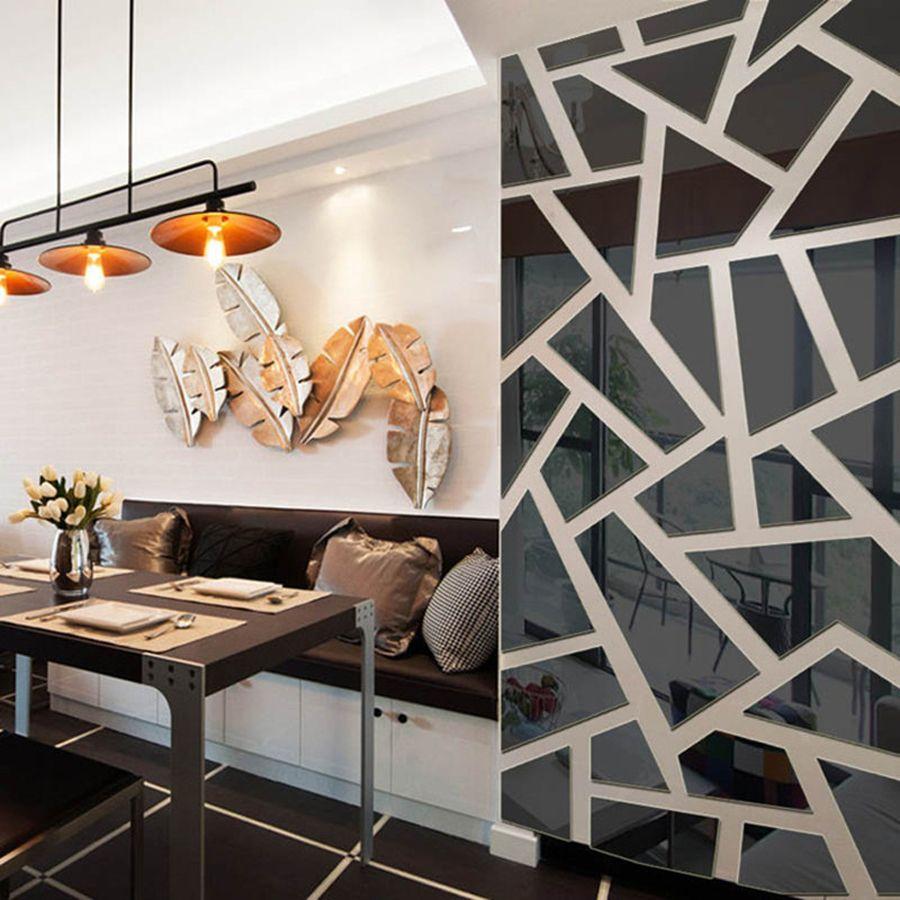 living room geometric design