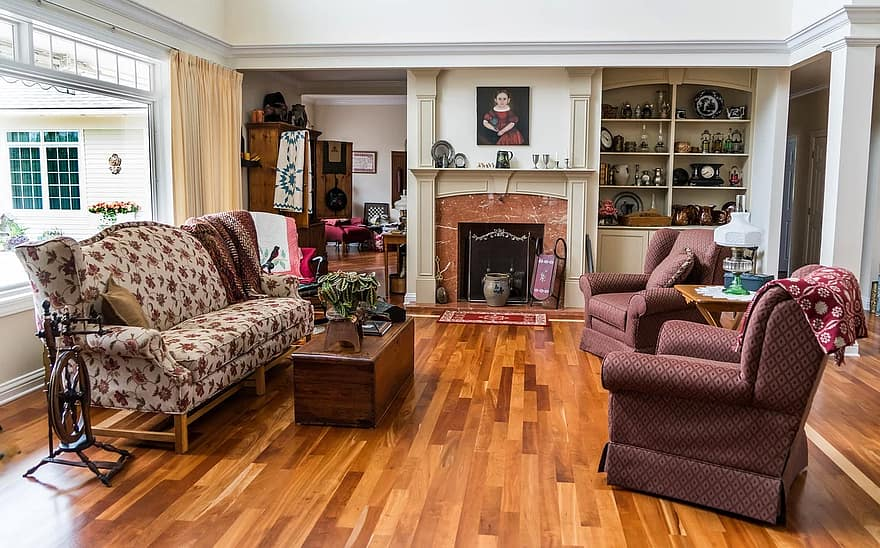 living room interior design sofa wood floor living room interior residential lifestyle decoration fireplace