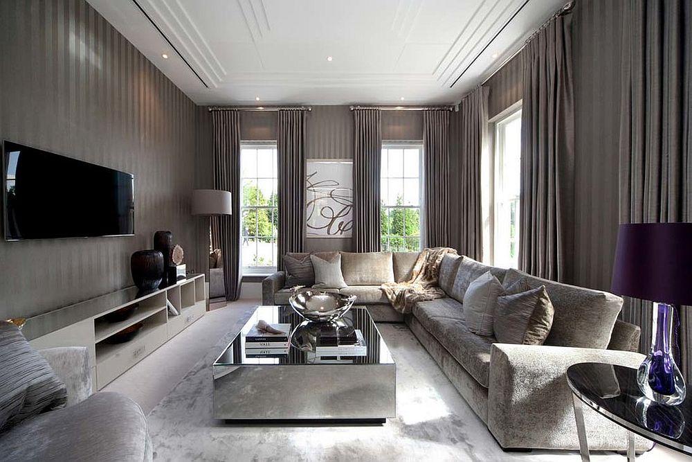 living room mirror furniture